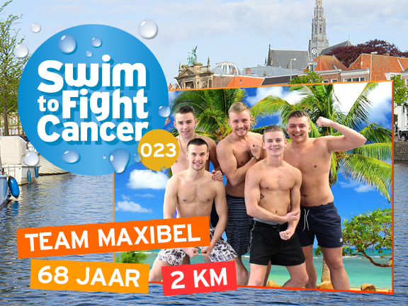 swim to fight cancer Maxibel